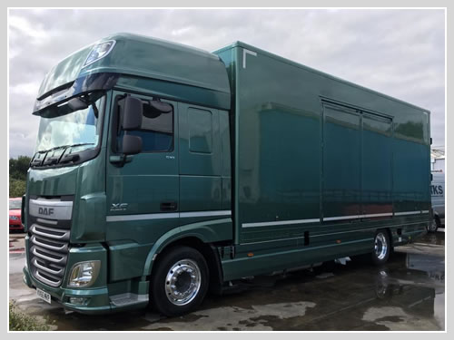 Auto Trailer For Sale Uk: 2 Car Enclosed Transporter