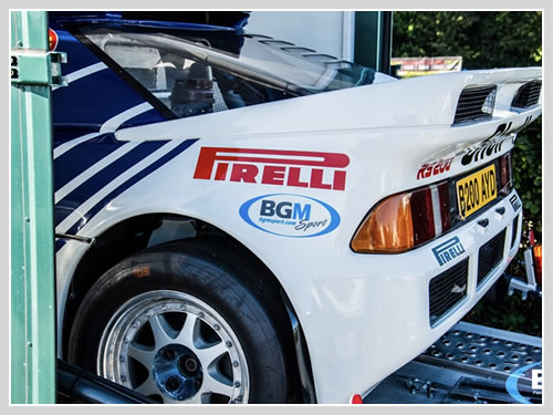 BGMsport, Castle Combe - a celebration of rally.