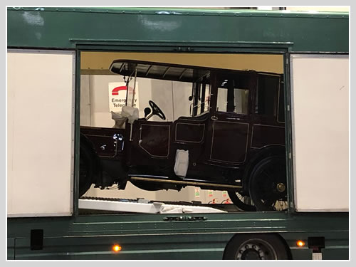 Classic Car Transport - NEC, Birmingham.