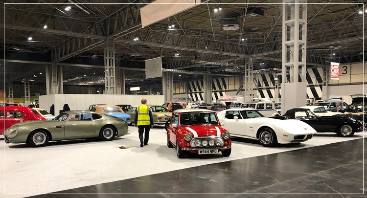 Classic Car Transport - NEC, Birmingham