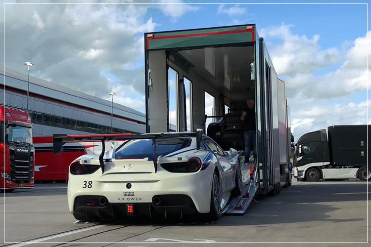car prototype transport, event car transport