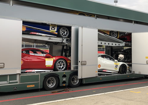 Ferrari Transport.