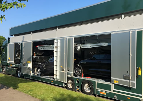 Rolfo 6 Car Covered Transporter.