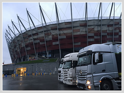 Vehicle Transport for Shows and Exhibitions